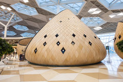 Baku Heydar Aliyev Airport Photo stock