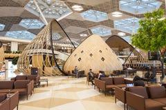 Baku Heydar Aliyev Airport Images stock