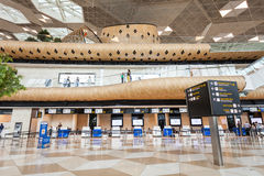 Baku Heydar Aliyev Airport Photo libre de droits