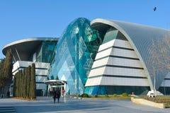 Baku - huvudstaden av den europeiska OS:en för sommar 2015, gamla stadsgator Royaltyfria Bilder