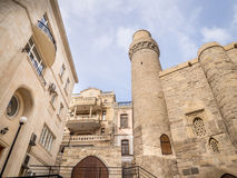Baku. Icheri Sheher (Old Town) of Baku, Azerbaijan. Icheri Sheher is a UNESCO World Heritage Site since 2000 Royalty Free Stock Photos