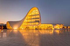 BAKU- JULY 20: Heydar Aliyev Center on July 20 Stock Images