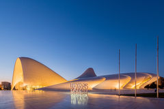 BAKU- JULY 20: Heydar Aliyev Center on July 20 Stock Photography
