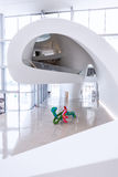 BAKU - July 16: Interior of Heydar Aliyev Center Museum in Baku, Azerbaijan. Royalty Free Stock Images