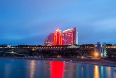 Baku - JUNE 29, 2015: Jumeirah Hotel on June 29 in Baku, Azerbai Stock Photography