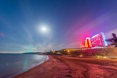 Baku - JUNE 29, 2015: Jumeirah Hotel on June 29 in Baku, Azerbai Stock Images