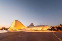 BAKU LIPIEC 20: Heydar Aliyev centrum na Lipu 20 Zdjęcie Royalty Free