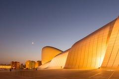 BAKU LIPIEC 20: Heydar Aliyev centrum na Lipu 20 Obrazy Royalty Free