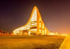 BAKU LIPIEC 20: Heydar Aliyev centrum na Lipu 20 Obraz Stock