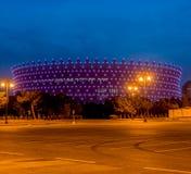 BAKU - MAJ 10, 2015: Heydar Aliyev Sports Complex Royaltyfri Foto