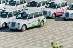 BAKU, MAJ - 10, 2015: Londyńskie taksówki na Maju 10 w BAKU Zdjęcie Stock