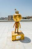 BAKU - MAJ 10, 2015: Nar-europén spelar maskot på Royaltyfri Fotografi