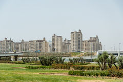 BAKU - MAY 10, 2015: Athletes Village on May 10 in Stock Images