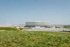 BAKU - MAY 10, 2015: Baku Olympic Stadium on May Royalty Free Stock Photo