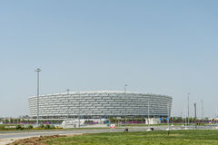BAKU - MAY 10, 2015: Baku Olympic Stadium on May Stock Images