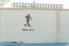 BAKU - MAY 10, 2015: First European Games on May Stock Photos