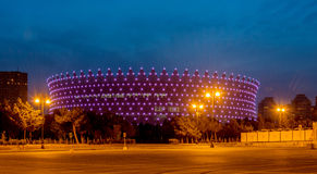 BAKU - MAY 10, 2015: Heydar Aliyev Sports Complex Royalty Free Stock Images