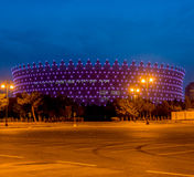 BAKU - MAY 10, 2015: Heydar Aliyev Sports Complex Royalty Free Stock Photo