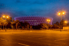 BAKU - MAY 10, 2015 Royalty Free Stock Photos