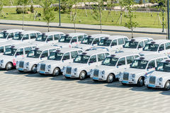 BAKU - MAY 10, 2015: London Cabs on May 10 in BAKU Royalty Free Stock Photo
