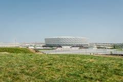 BAKU - MEI 10, 2015: Baku Olympic Stadium op Mei Royalty-vrije Stock Foto