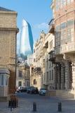 Baku miasto Fotografia Stock
