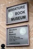 Baku Museum de libros miniatura, Azerbaijan imagenes de archivo