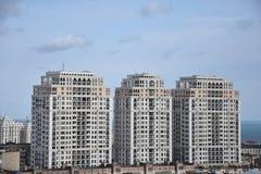 Baku nieuwe gebouwen Royalty-vrije Stock Afbeelding