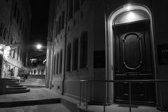 Baku by Night Royalty Free Stock Photo