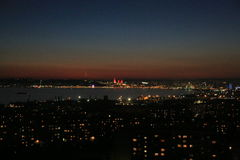 Baku night view Stock Photography