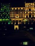 Baku nocą Zdjęcia Stock