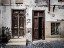 Baku. Old doors in Icheri Sheher (Old Town) of Baku, Azerbaijan. Icheri Sheher is a UNESCO World Heritage Site since 2000 Stock Photography