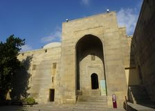 Baku Palace do museu de Shirvanshahs fotos de stock
