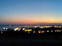 Baku panorama Zdjęcie Stock