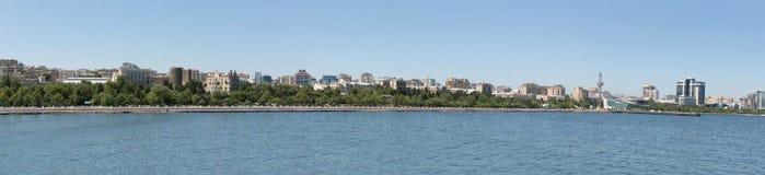 Baku panorama view Royalty Free Stock Photography