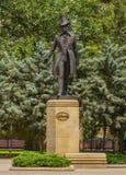 Baku Pushkin Monument stock photos