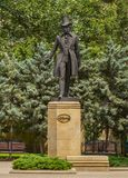Baku Pushkin zabytek zdjęcia stock