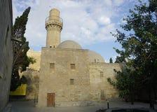 Baku Shirvanshahs Mosque au complexe image libre de droits