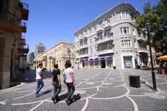 Baku-Stadt Stockbild