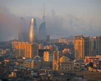 Baku Sunrise Foto de archivo