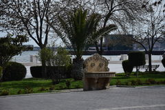 Baku Washbasin en la costa Imágenes de archivo libres de regalías