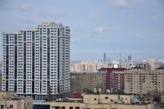 Baku Yasamal område Arkivbilder
