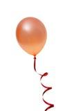 Balão alaranjado Fotografia de Stock Royalty Free