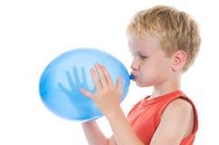 Balão azul Imagem de Stock Royalty Free