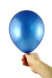 Balão azul Fotografia de Stock