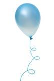 Balão azul Fotografia de Stock Royalty Free