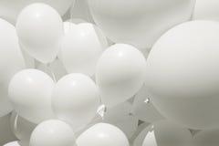 Balão branco Imagens de Stock Royalty Free