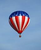 Balão das estrelas e das listras Foto de Stock Royalty Free