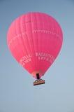 Balão de ar cor-de-rosa Fotografia de Stock
