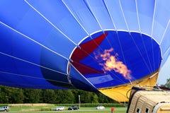 Balão de ar da explosão de fogo Imagens de Stock Royalty Free
